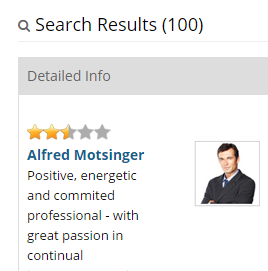 Resume Search Results